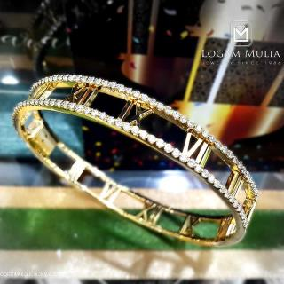 gelang berlian wanita crbg.mj2442cb tnnd 22014552534