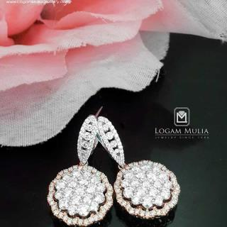 Anting Berlian Wanita ARA.EA2605287 tseN