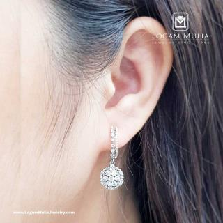Anting Berlian CRA.(PJ) MJ3680. sTDD